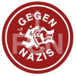 Glubb-Fans gegen Nazis
